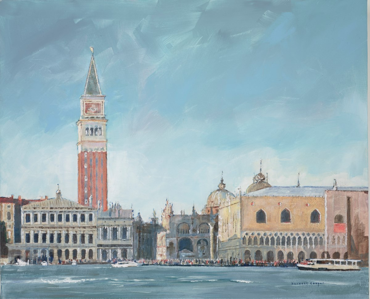 St Marks, from the Sea by hilary burnett cooper -  sized 22x18 inches. Available from Whitewall Galleries